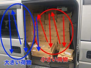 荷物の積み方~Before